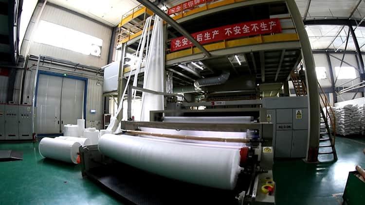 无纺布生产线